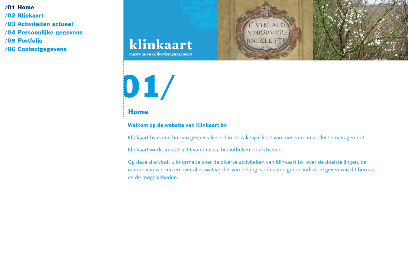 Klinkaart Collectie-en Museummanagement